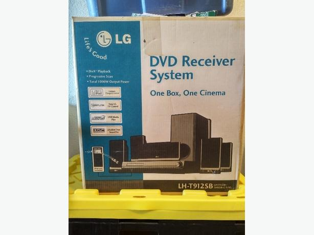 LG DVD and IPOD pkayer With Speakers