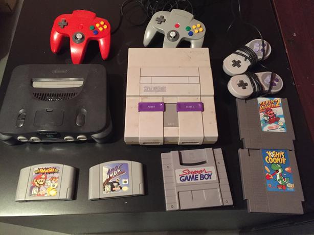 Various Nintendo items