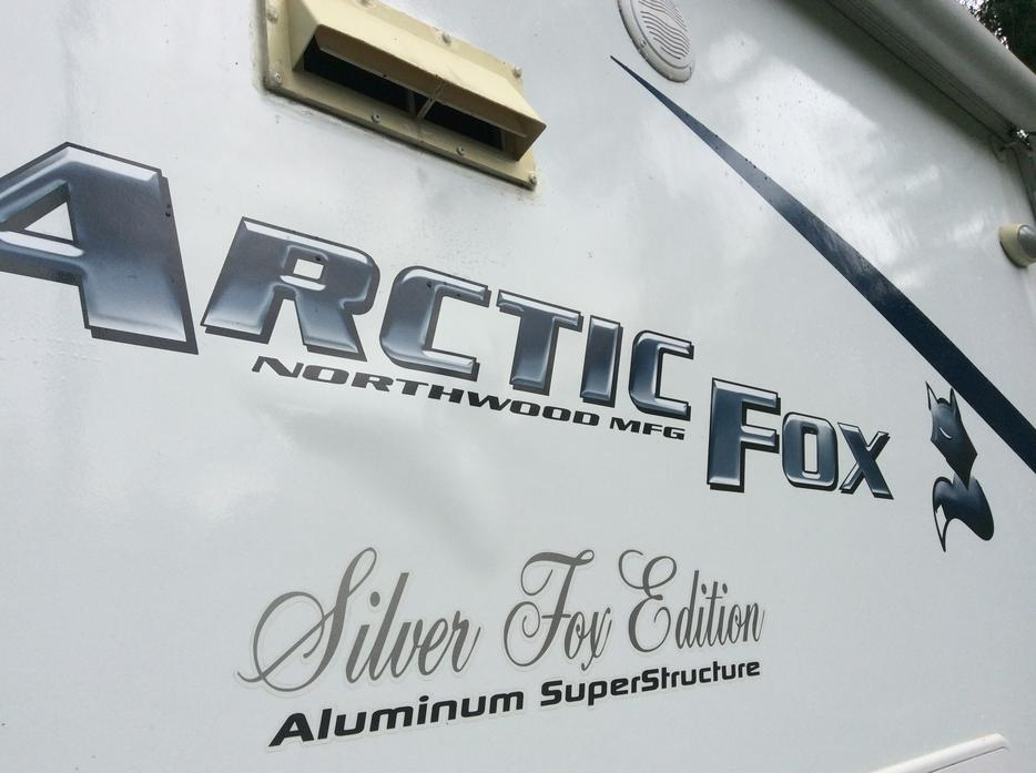 Arctc Fox 30U trailer Silver Fox Edition