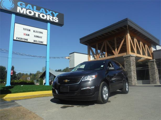 2016 Chevrolet Traverse LS - AWD, 8 Passenger, OnStar