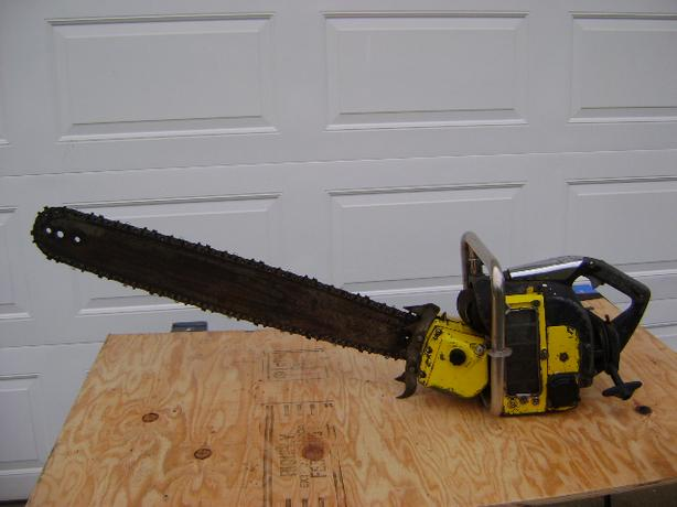 McCULLOCH SUPER 33 VINTAGE CHAINSAW