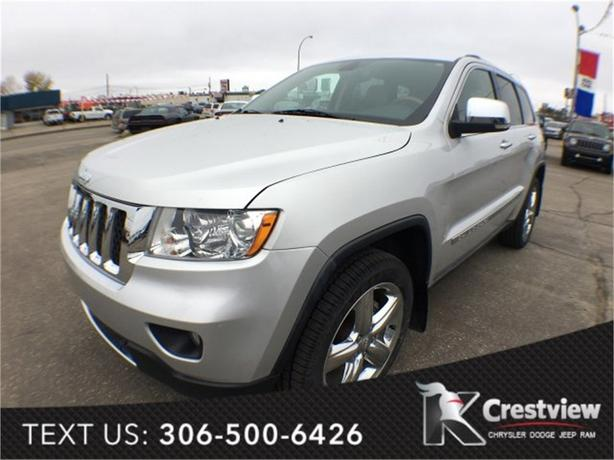 2011 Jeep Grand Cherokee Overland V6 w/ Leather, Sunroof, Navigation