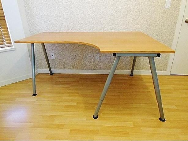 Ikea GALANT Corner Desk Right - Beech, A-Legs