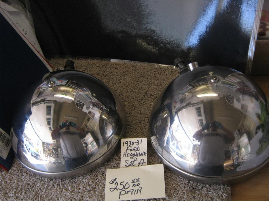 1928 29 Ford Headlights 1930 31 Headlights West Shore