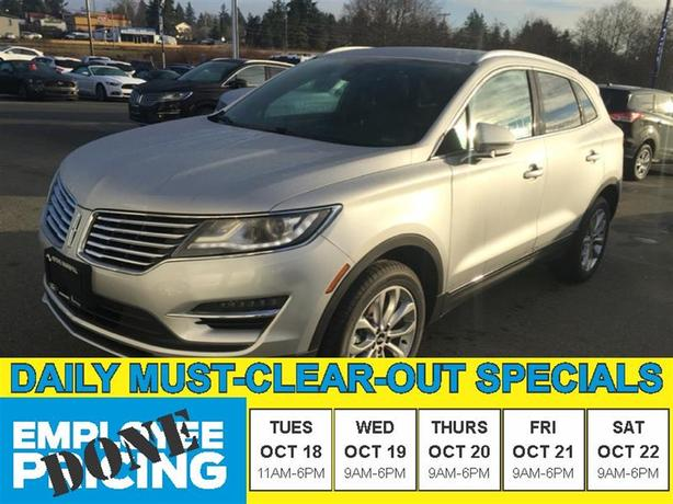 2016 Lincoln MKC Select - AWD 2.0L Ecoboost