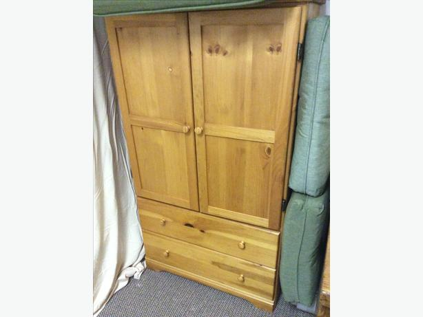 Pine wood armoire