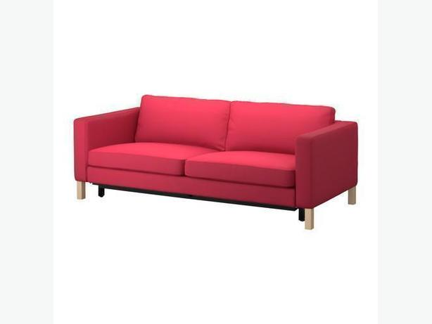 Ikea KARLSTAD Sofabed Cover - Sivik Pink-Red (Cover Only)