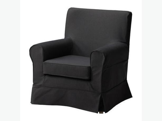 Ikea EKTORP JENNYLUND Armchair Cover - Idemo Black