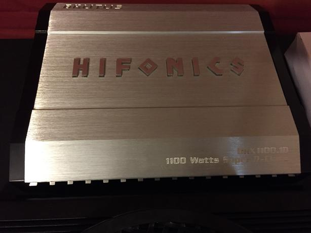 Hifonics Brutus BRX1100.1D mono amp