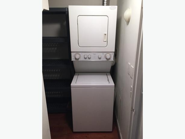 Condo Washer and Dryer Stacked