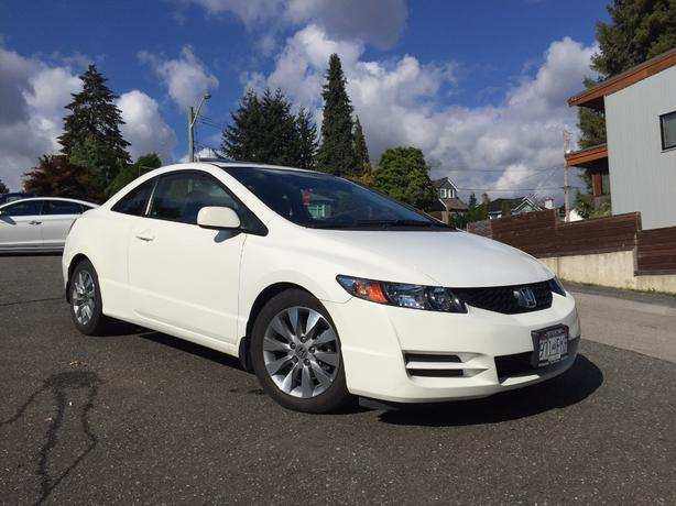 2010 Honda Civic EX-L Coupe. 58,500kms. Like new.