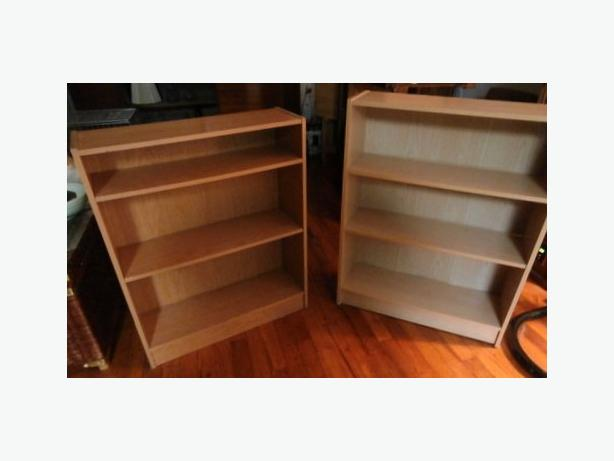 Two Shelf Units