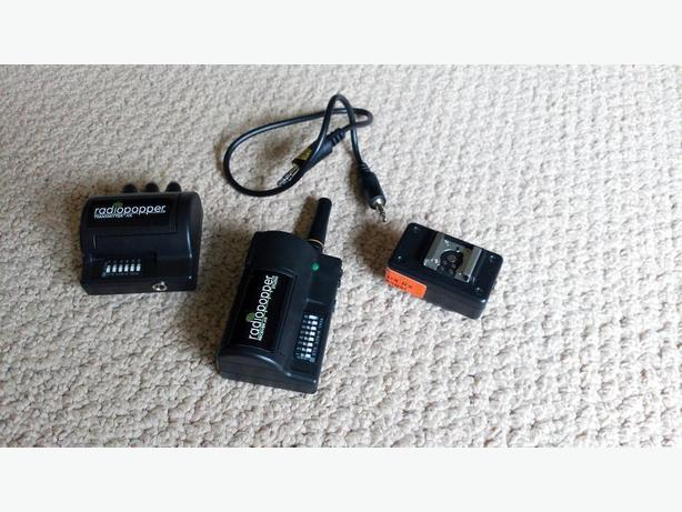 Radio Poppers JrX RX (for Canon cameras)