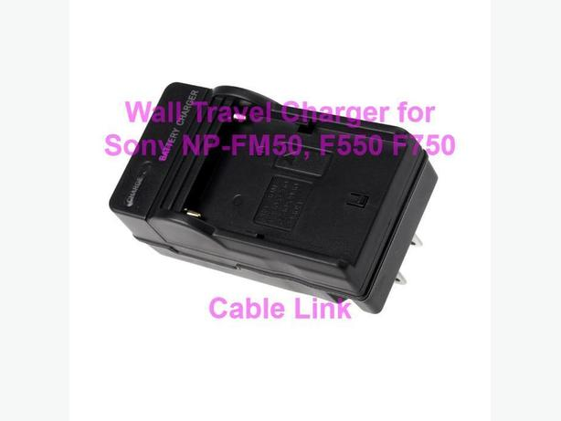 Battery Charger For SONY NP-FM50 NP-F550 NP-F750 NP-F960