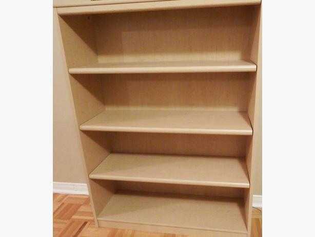 Light Beige Book Shelf