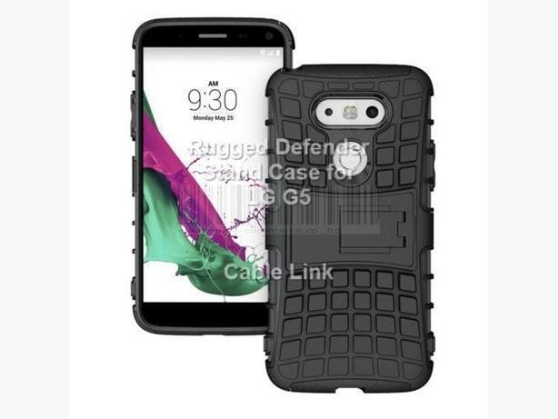 Rugged Hybrid Heavy Duty Armor Case for LG G5