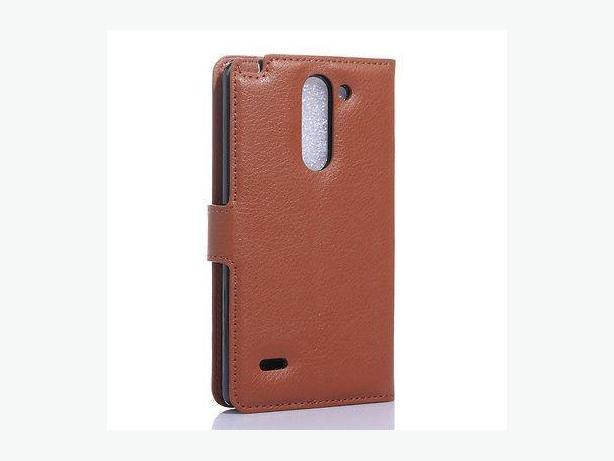 Wallet Folio Leather Stand Case Cover For LG G3 stylus D690