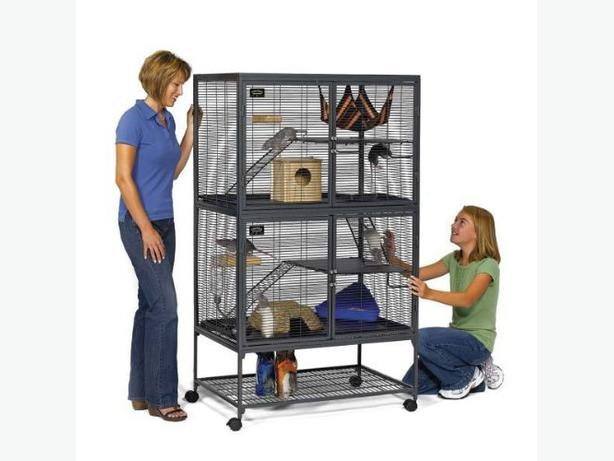 Midwest Critter Nation Animal Habitat with Stand