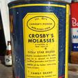 VINTAGE 1955's CROSBY MOLASSES IMPERIAL QUART CAN - SUPER RARE