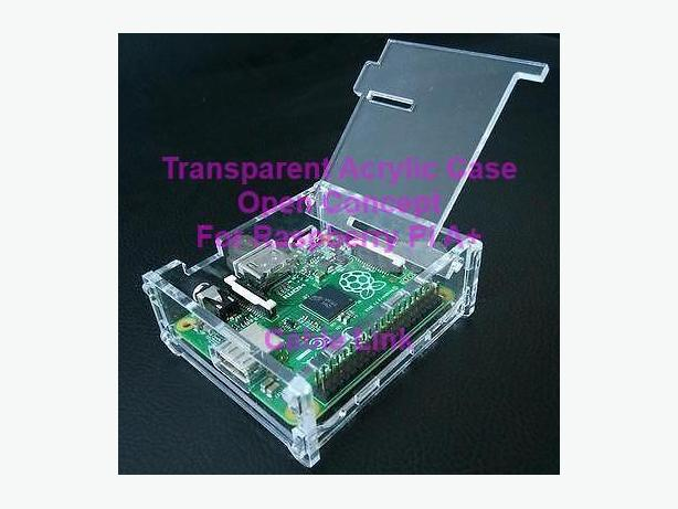 Transparent Acrylic Raspberry Pi A+ Case Enclosure Box