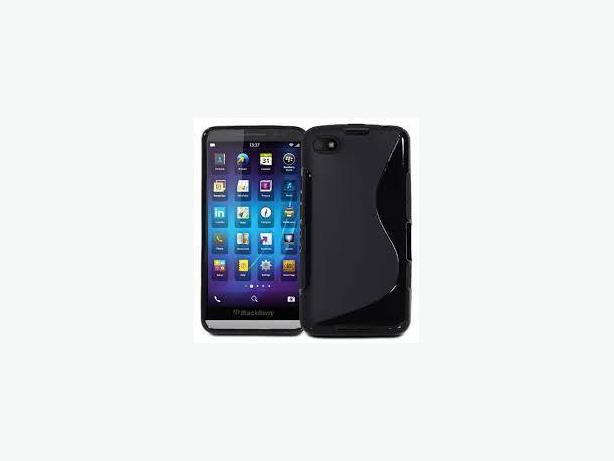 S-Shape TPU Silicone CASE Cover For BlackBerry Z10