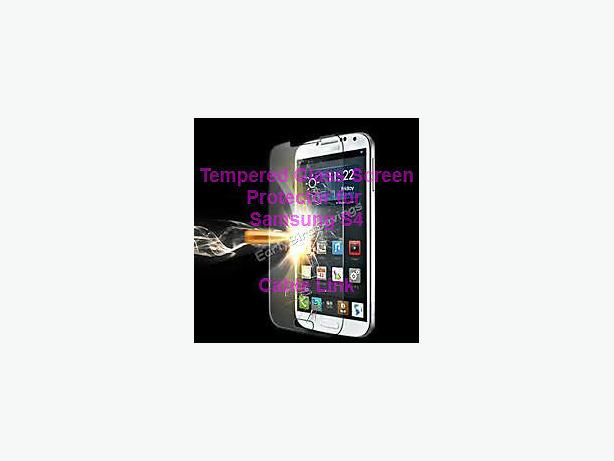 Tempered Glass Screen Protector For Samsung Galaxy S4 i9500