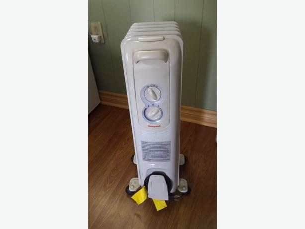 honeywell oil heater