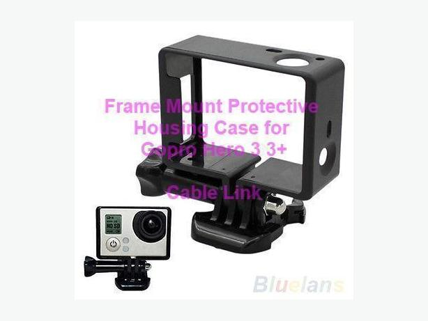 Frame Mount Protective Housing Case for GoPro HD Hero 3 3+