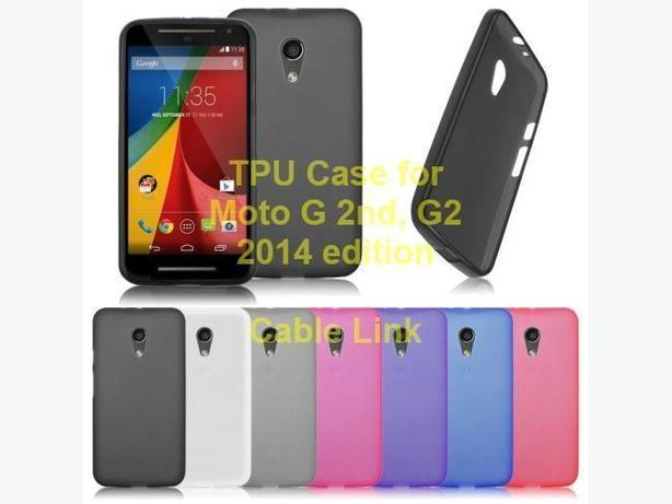 Frosted Matte TPU Case for Motorola Moto G 2nd G2
