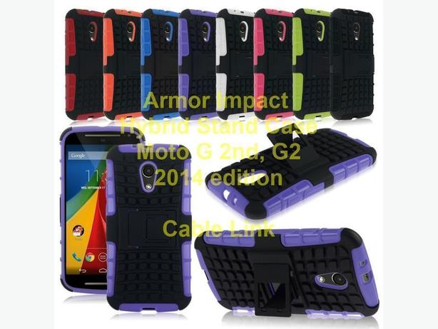 New Heavy duty armor hybrid stand case for Motorola Moto G 2nd, G2