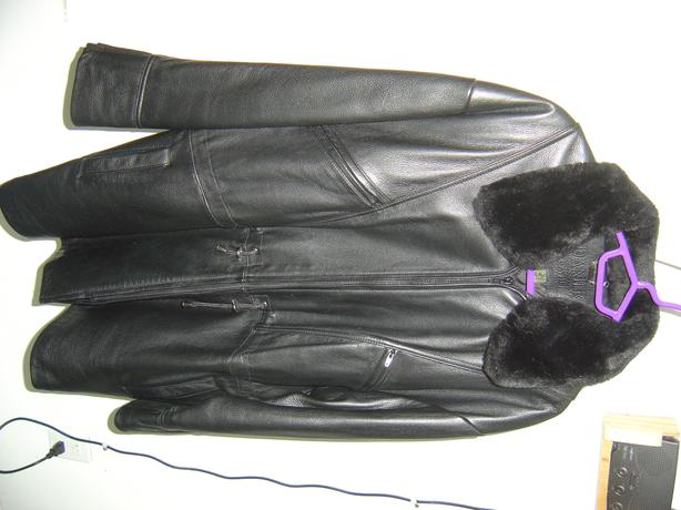 Buttery soft Danier leather 3/4 coat/jacket