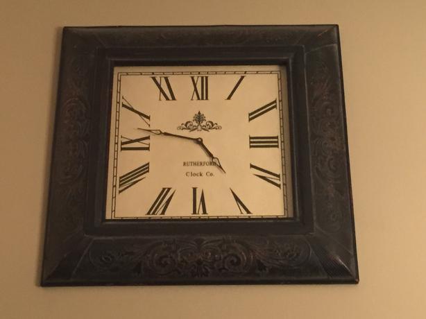 Large Square Clock