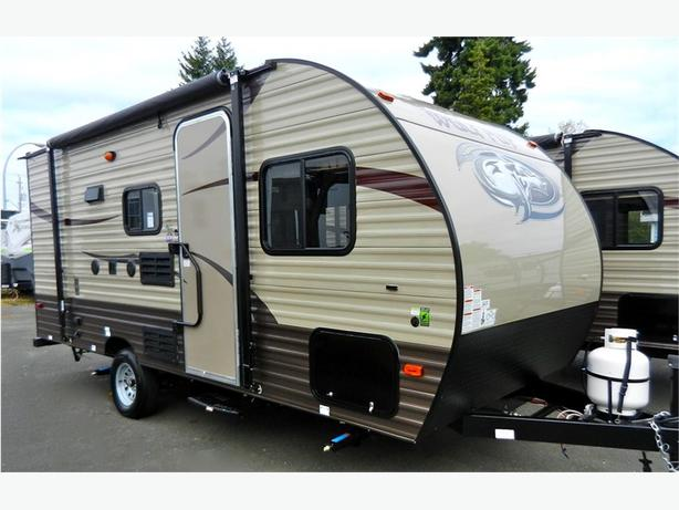 2017 Forest River 16BHS - This Lightweight Travel Trailer Has Bun... -