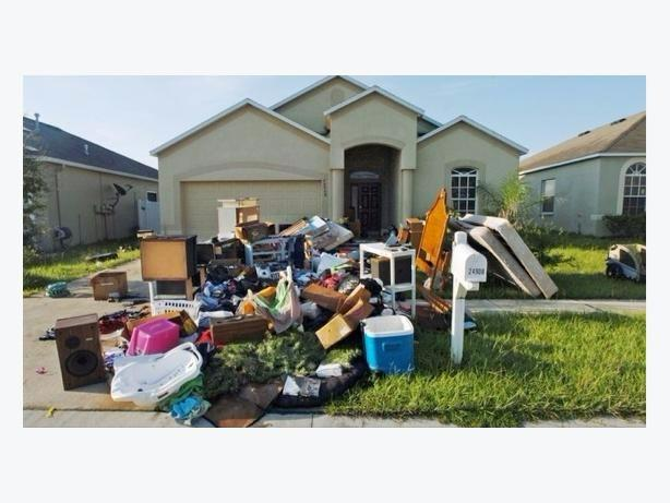 Rubbish Yard junk Dump Removal property cleaning