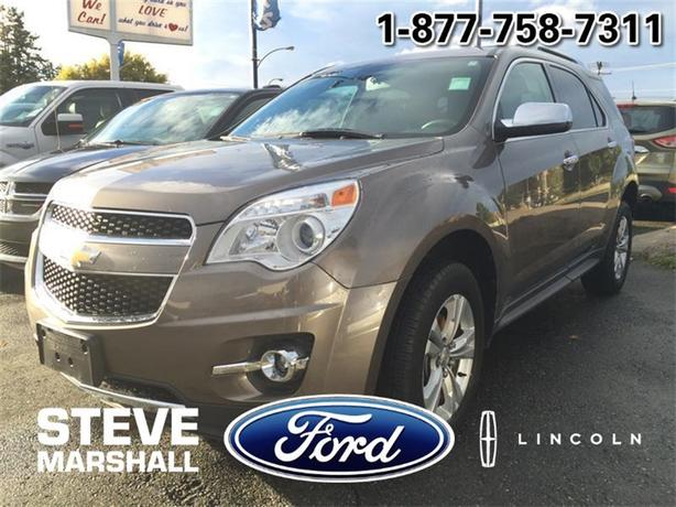 2010 Chevrolet Equinox LTZ - Loaded Compact AWD SUV