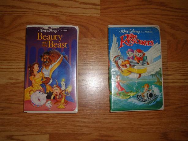 Original Black Diamond The Classics Walt Disney VHS Movies - $100 each