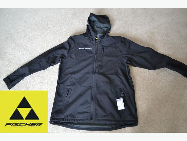 New Fischer Softshell Jacket Size XL