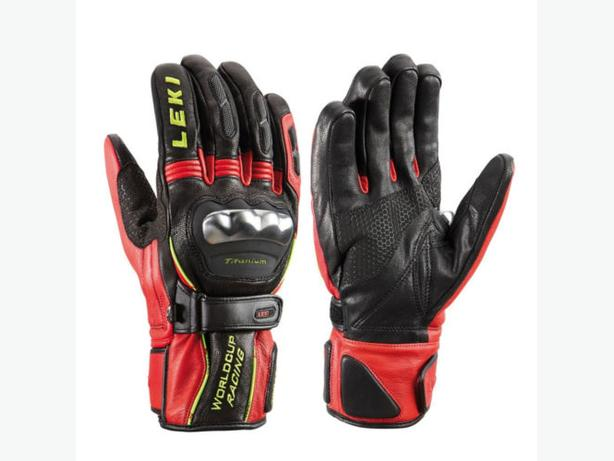 New Leki WC Ski Racing Trigger S Ti Gloves. Size Large – 9.5