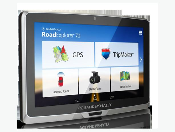 Rand McNally Road Explorer 70 GPS+Android Tablet