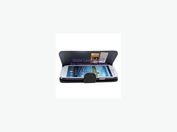 Folio Flip Faux Leather Case For Samsung I9300 Galaxy S3