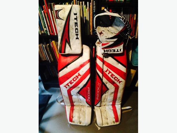 hockey goalie gear