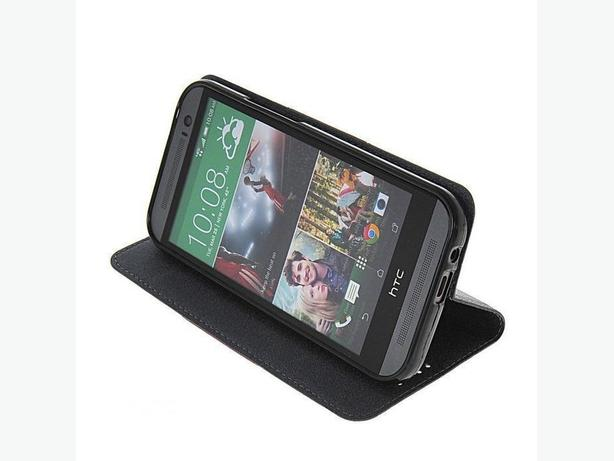 Litchi Flip Card Wallet Hybrid Case Cover for HTC ONE 2 M8