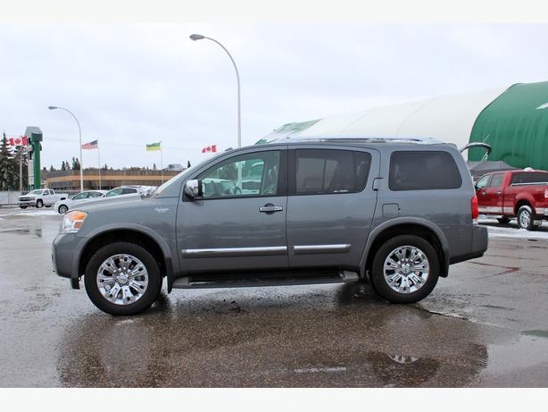 2015 Nissan Armada Platinum 4X4*Back-Up Camera, Navigation, Dual DVD*