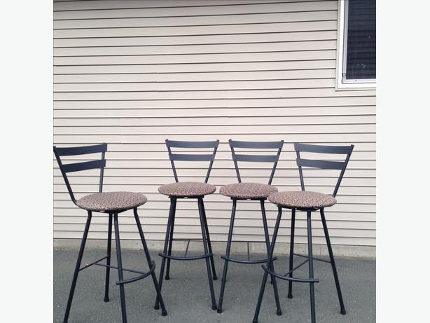 4 Kitchen Bar Chairs