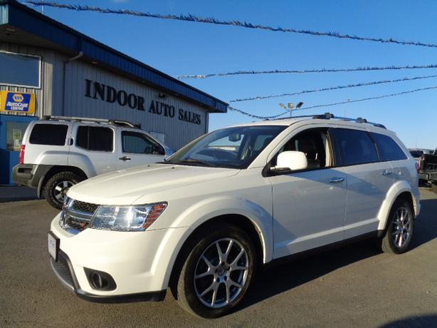 2013 Dodge Journey R/T #I5350 INDOOR AUTO SALES WINNIPEG