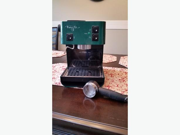 Saeco Starbucks green barista coffee maker