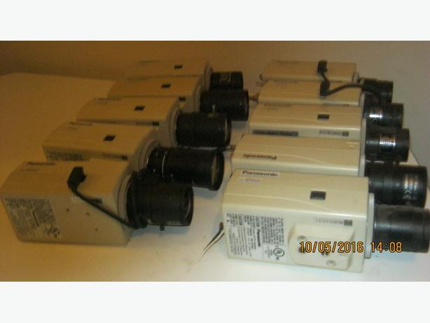 10 PANASONIC COLOR CCTV CAMERAS (VICTORIA)