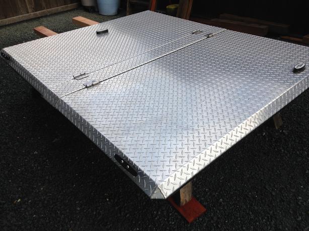 Tacoma Diamond Back Box Cover
