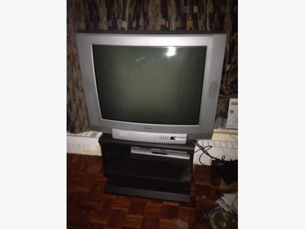 Tube TV & Stand