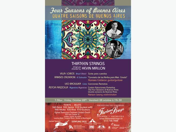 Thirteen Strings Concert - Four Seasons of Buenos Aires